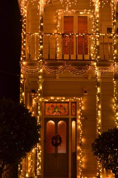 Franklin Road Dec 2012. Nothing says Christmas like the glow of golden light.