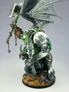 its not quite how I'd envisage Angron to look, but there is a lot about this conversion that I really like.
