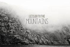 mountains minimalist Digital DownloadPrintable green by SoulReno, $7.00