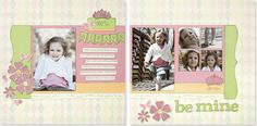 The perfect girl #scrapbook layout from #CTMH