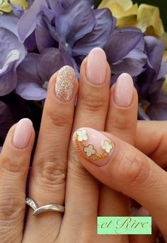nails/ love the color and glitter nails just don't like the thumb lol