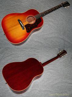1963 Gibson J-45 ADJ, Rich Cherry Sunburst