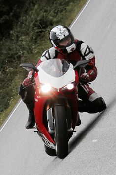 Out riding My Ducati 1098R