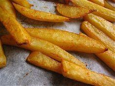 Frites au four weight watchers... Essayées et approuvées. (g pas de friteuse !!!)
