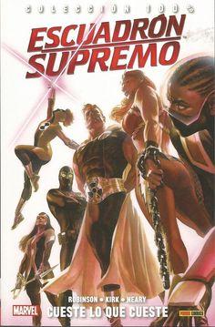 100% Marvel. Escuadrón Supremo 1