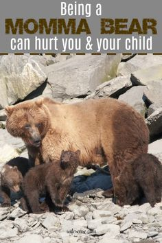 Defending your child like a Momma Bear implies defending them like an unthinking animal. But the minute you stop thinking is the minute you can be played. #mommabear #mom #kids #family #wifesense