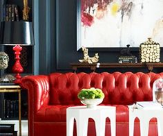 You Know You Want This: Red Sofa