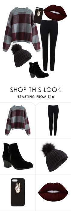 """Untitled #246"" by bonjourlma ❤ liked on Polyvore featuring Warehouse, Skechers, Miss Selfridge, Nasty Gal and Lime Crime"