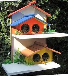 Blog da Dháyrah: Casinha de passarinho!