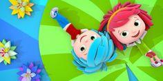 Da domenica 19 marzo in prima visione su Rai YoYo i gemellini disegnati da Ugo Nespolo