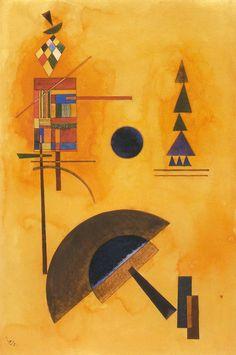 Wassily Kandinsky - Semicircle, 1927