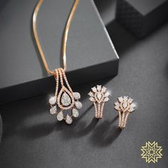 This Akshaya Trithiya gift her timeless jewels as a confession of your love for her. This Akshaya Trithiya gift her timeless jewels as a confession of your love for her. Gold Mangalsutra Designs, Gold Earrings Designs, Gold Jewellery Design, Diamond Necklace Set, Diamond Pendant, Diamond Jewelry, Diamond Rings, Pendant Design, Pendant Set