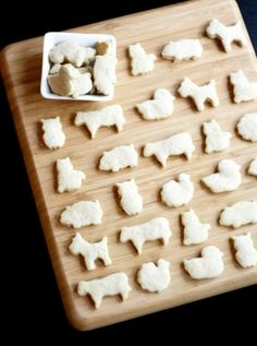 Eat Drink Pretty | Homemade animal crackers