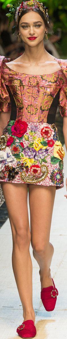 Dolce & Gabbana Spring 2017 RTW   ᘡℓvᘠ □☆□ ❉ღϠ □☆□ ₡ღ✻↞❁✦彡●⊱❊⊰✦❁ ڿڰۣ❁ ℓα-ℓα-ℓα вσηηє νιє ♡༺✿༻♡·✳︎· ❀‿ ❀ ·✳︎· SA FEB 18 2017 ✨ gυяυ ✤ॐ ✧⚜✧ ❦♥⭐ ♢∘❃ ♦♡❊ нανє α ηι¢є ∂αу ❊ღ༺✿༻✨♥♫ ~*~ ♆❤ ♪♕✫❁✦⊱❊⊰●彡✦❁↠ ஜℓvஜ