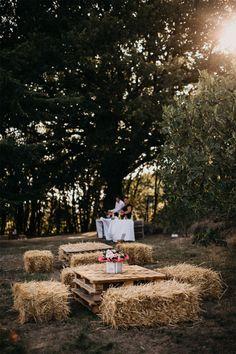 Le mariage champêtre de Valentine et Benoit dans la Drôme | Photographe : Gwendoline Noir | Donne-moi ta main - Blog mariage