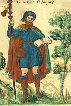 Pellegrino di San Giacomo, immagine popolare del XVI secolo
