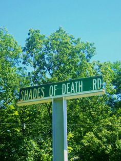 The road and the surrounding area reportedly haunted. New Jersey.
