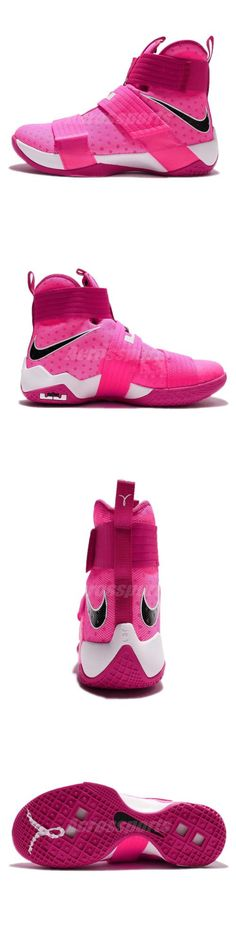 sports shoes c61d6 822ec Basketball  Nike Lebron Soldier 10 Ep X James Kay Yow Breast Cancer  Basketball 844375-