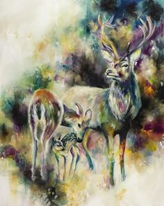 Browse and buy the latest artwork from the artist Katy Jade Dobson. Buy prints and original art by Katy Jade. Oil Painters, Mixed Media Canvas, Wildlife Art, Animal Paintings, Beautiful Paintings, Contemporary Artists, In This World, Canvas Art, Small Canvas