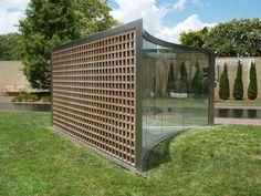 Washington, DC: Hirshhorn Museum and Sculpture Garden: For Gordon Bunshaft (2006, sculptor Dan Graham)