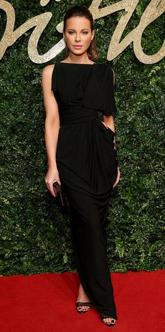 See All of the Best Looks from the 2015 British Fashion Awards Red Carpet - Kate Beckinsale - from InStyle.com