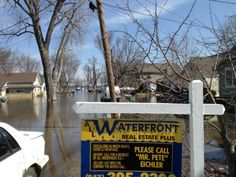 Residents Along Chain O Lakes Battling Flood Waters
