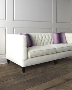 """""""Fulton""""+Tufted+Sofa+by+Bernhardt+at+Horchow."""