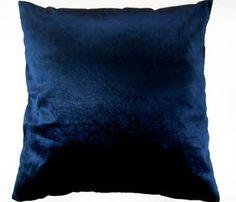 blue velvet pillow ebay