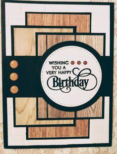 Mens Birthday Cards, Male Birthday, Masculine Birthday Cards, Bday Cards, Masculine Cards, Happy Birthday Cards, Making Greeting Cards, Greeting Cards Handmade, Scrapbook Cards