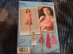 Simplicity Pattern 0233 sizes 12-20 Uncut by KalimahsKreationsLLC