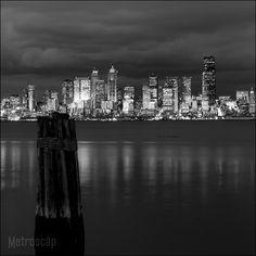 Elliott Bay, Seattle.