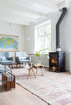 Maison vintage de Rixt et Arjan en Hollande du Nord Vtwonen via Nat et nature