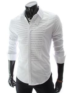 T-shirt Men Pattern 56 Trendy Ideas Stylish Shirts, Casual Shirts, Mens Shirt Pattern, Boys Kurta Design, White Shirt Men, Men's White Shirts, Mens Kurta Designs, Mens Designer Shirts, Formal Shirts For Men