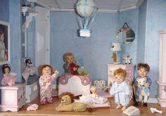 Alicia Guerra. Colección privada con muñecos de Catherine Muniere