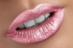 Queen Peach Metallic liquid lipstick  - Water proof, Smudge proof, transfer proof,  and 24 hour stay Matte Liquid lipstick - Glamorous Chicks Cosmetics