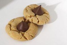 A classic: Peanut Butter Chocolate Kiss Cookies