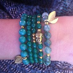 Mixed greens! Gemstone Bracelets, Change, Gemstones, Jewelry, Jewlery, Gems, Jewerly, Schmuck, Jewels