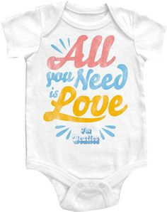 Baby Gifts and Goodies - Beatles All You Need is Love Baby Onesie, (http://www.babygiftsandgoodies.com/beatles-all-you-need-is-love-baby-onesie/)