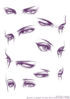 +EYE PRACTICE+ by ~jinx-star on deviantART