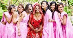 Bridesmaids at Indian Weddings