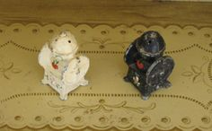 Cast Iron Coffee Grinder Salt and Pepper Shakers by Alveta on Etsy, $12.00