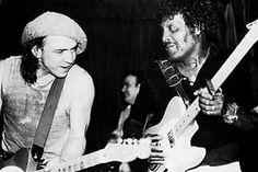 Stevie with Albert
