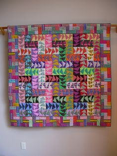 Wild Geese wall quilt by tinacurran on Etsy
