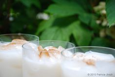We could all use a little Horchata… : Pati's Mexican Table