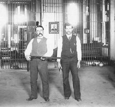 Jailers Fort Worth, Texas Armed jailers in the Tarrant County Jail. No date listed. Photo Courtesy of the Tarrant County Archives