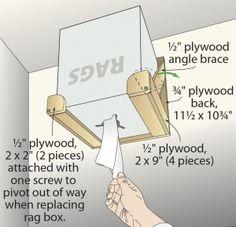 Papiertuchhalter