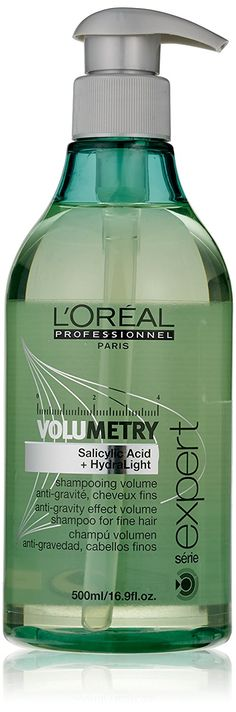 L'oreal Volumetry Anti-Gravity Volumizing Shampoo for Unisex, 16.9 Ounce >>> Details can be found by clicking on the image.