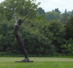 Dancer by Carol Peace exhibited at Coworth Park, Gardens, Ascot.
