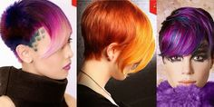 The HairCut Web! These colors are so vibrant