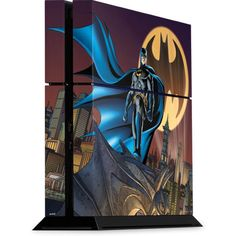 Batman in the Sky Playstation 4 PS4 Console Skin